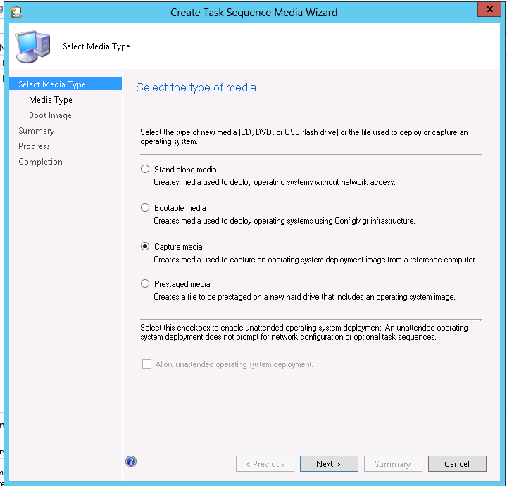 Operating system deployment boot images and distribution point - Gerry Hampson Device Management Configmgr 2012 Sccm
