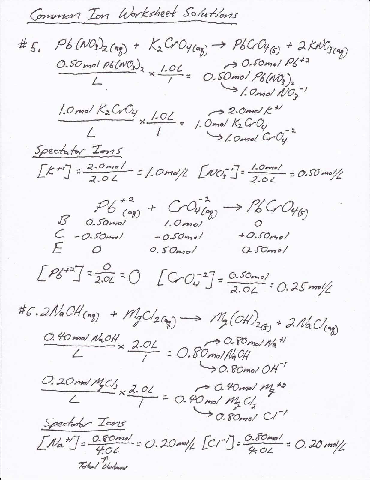 Printables Titration Problems Worksheet titration problems worksheet plustheapp solutions to the common ion are given below these problems