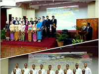 Pelepasan Mahasiswa Alumni LNG Academy Angkatan Pertama dan Pelantikan Mahasiswa Baru LNG Academy Angkatan Keempat