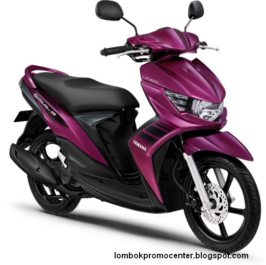 Yamaha Soul GT Warna Ungu - Deep Purple