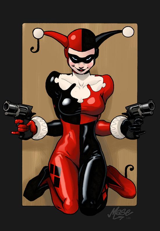 Im genes de superheroes harley quinn comics villanos for Imagenes harley quinn