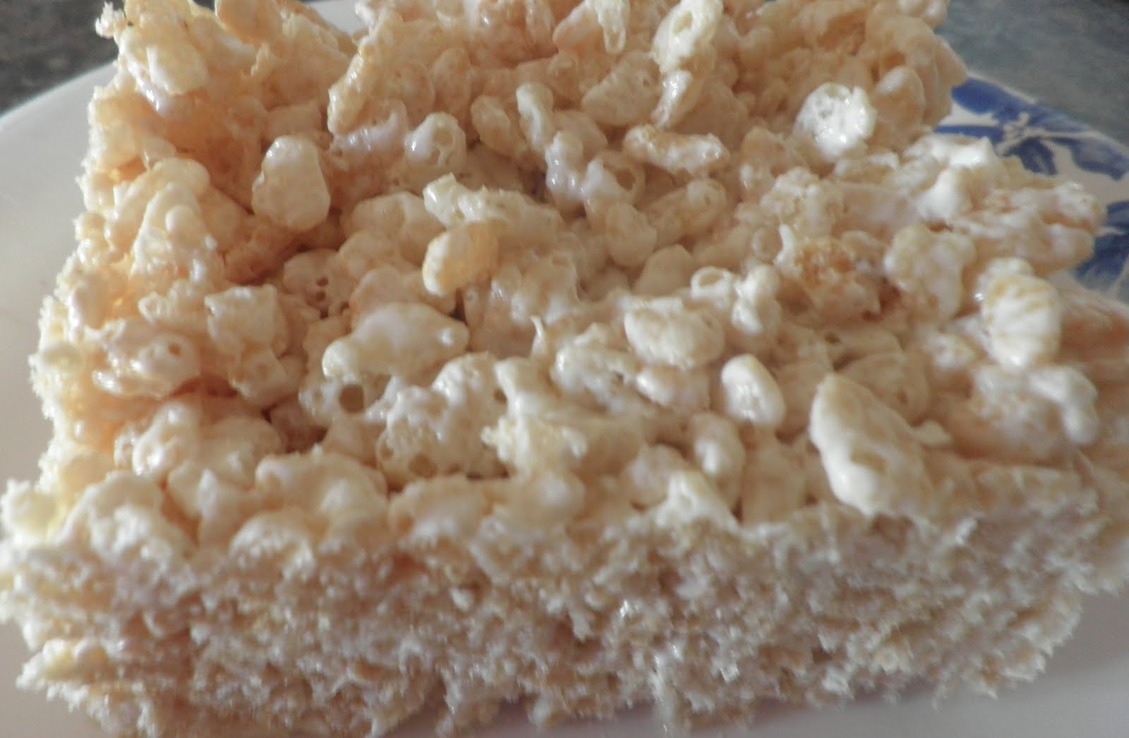 ... white chocolate and rice krispie treats she makes white chocolate rice