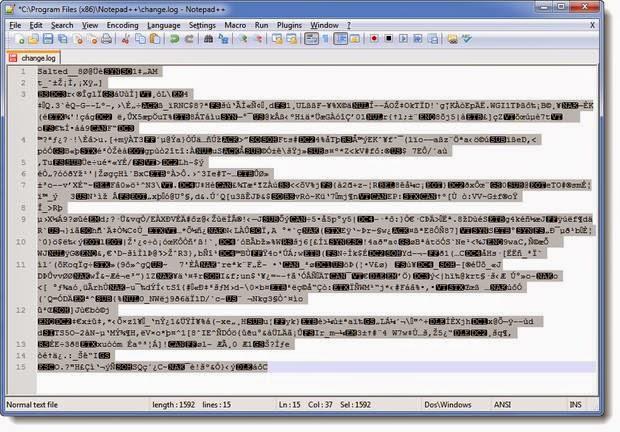 كيفية تشفير الملفات النصية بالـNotepad++