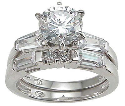 Inexpensive Wedding Ring Sets on Elegant Wedding Ring Sets
