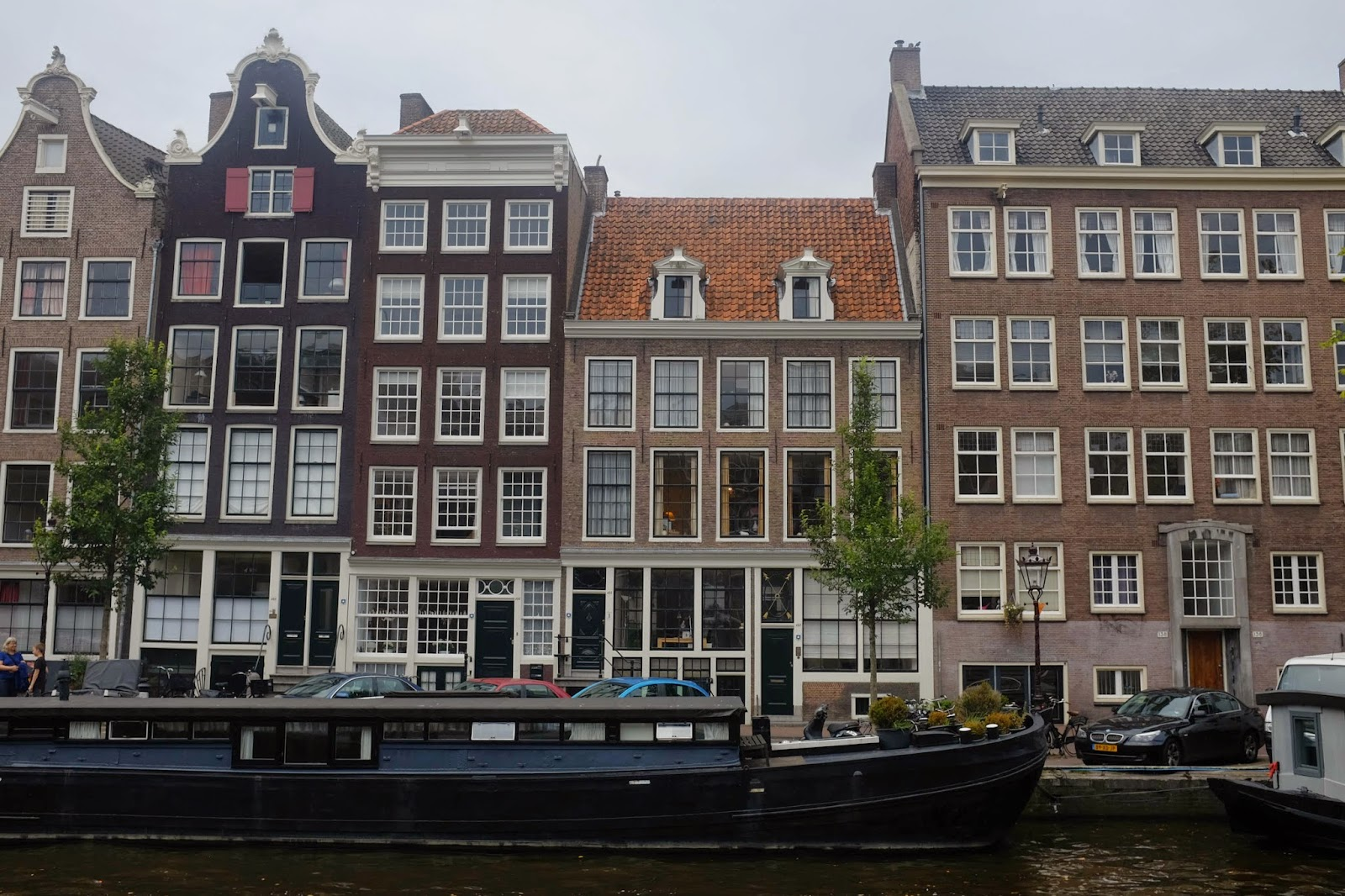 Canals of Amsterdam house architecture