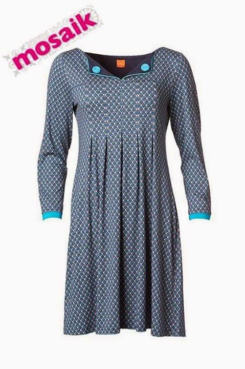 Dashy Dorrit klänning i turkost från duMilde
