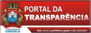 Portal da Transparência da Prefeitura de Cabedelo