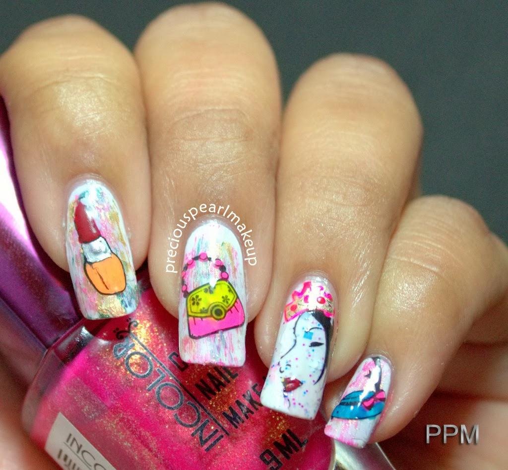preciouspearlmakeup: Women\'s Day Nail Art