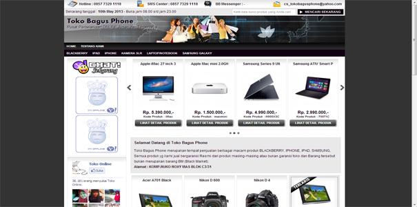 daftar toko online 100 penipu android galeri