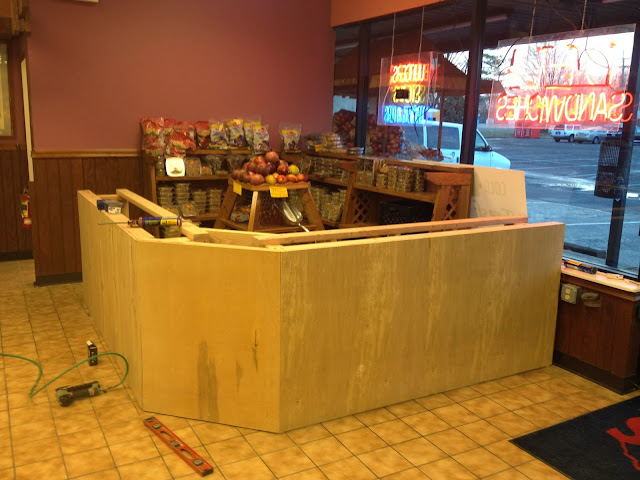 juice bar construction