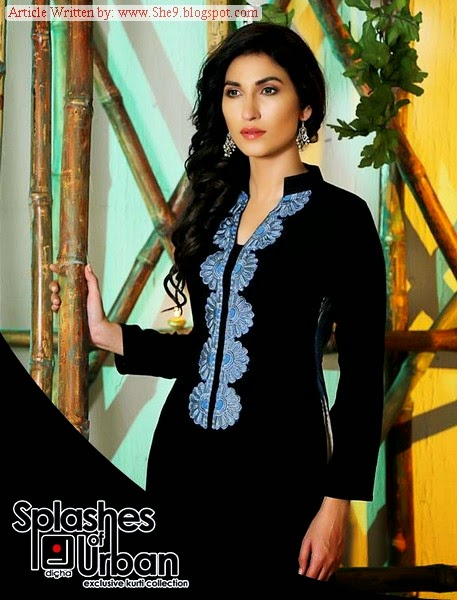 Dicha Latest Winter Dress Collection 2014