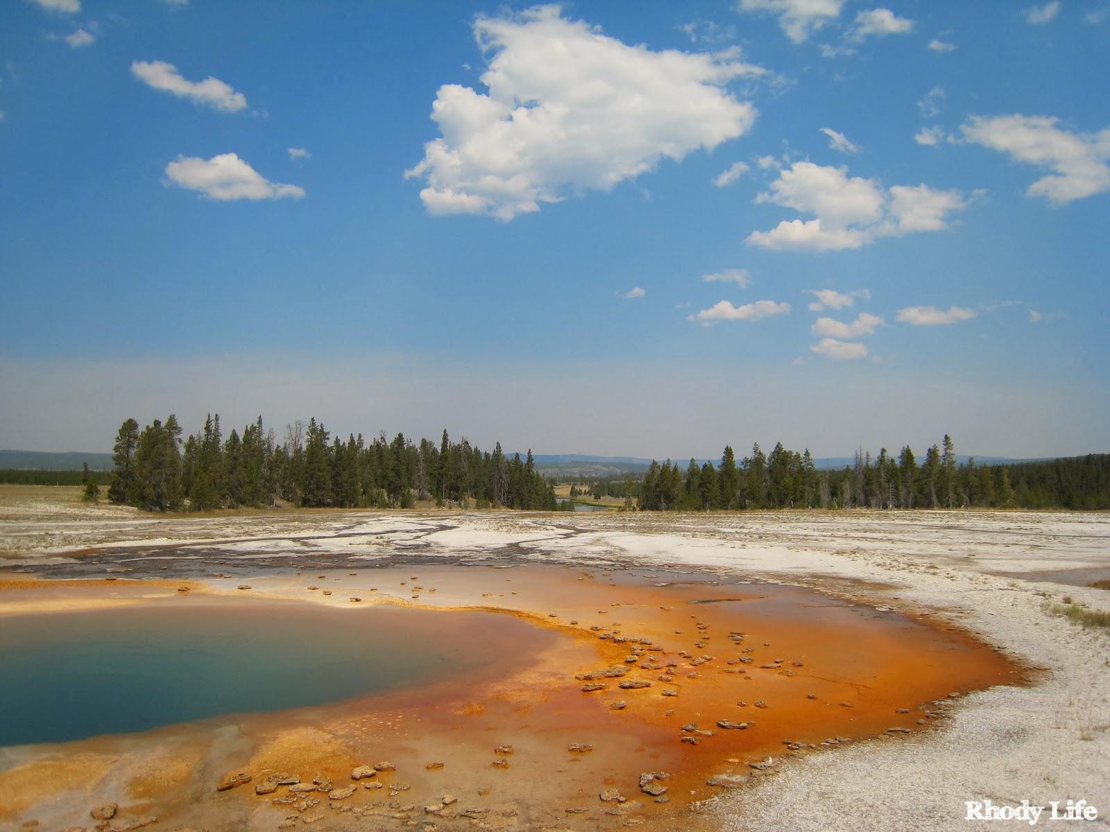 Rhody Life September - Us national parks yellowstone