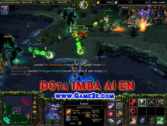 warcraft dota server: