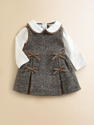 Designer Baby: Fendi Baby Tweed Dress