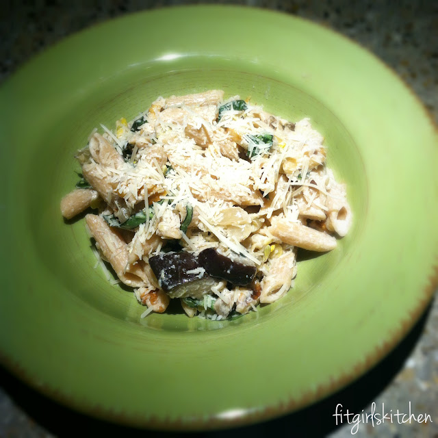 Giada De Laurentiis Penne with Butternut Squash and Goat Cheese