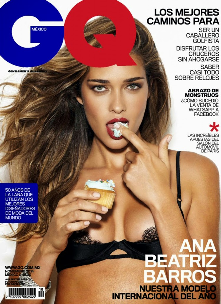 Ana Beatriz Barros for GQ Mexico November 2014 by Gavin Bond