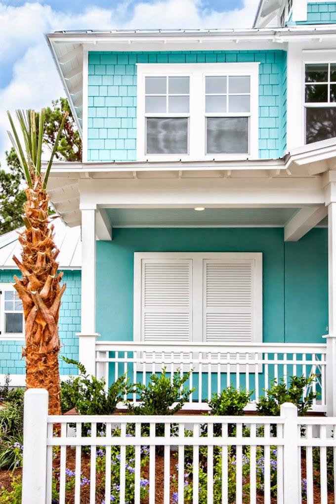 House of turquoise glenn layton homes - Colores para una casa ...