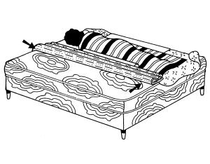 partie 8 faire le lit avec la personne malade dedans stimuler accompagner soulager. Black Bedroom Furniture Sets. Home Design Ideas