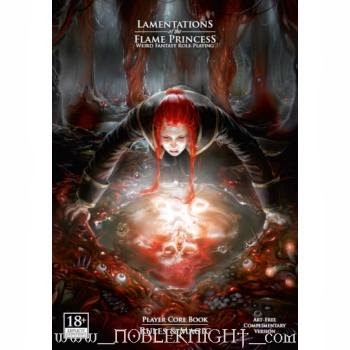 Lamentations of the Flame Princess: Weird Fantasy Role Playing Game  - Rules & Magic