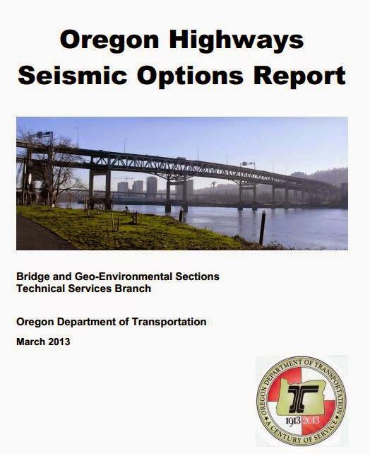 Oregon Highways Seismic Options