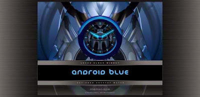 Laser Clock ANDROID BLUE v2.15