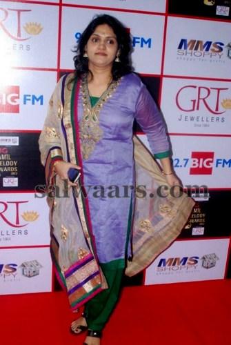 Singer Harini Salwar Kameez