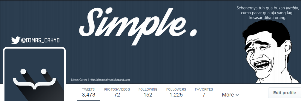 Download Template Twitter Header 2014 .PSD