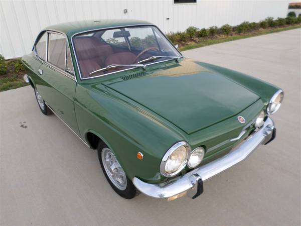 Full restoration 1970 fiat 850 sport coupe auto restorationice - Fiat 850 sport coupe for sale ...