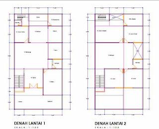 sketsa rumah minimalis keren desain rumah minimalis
