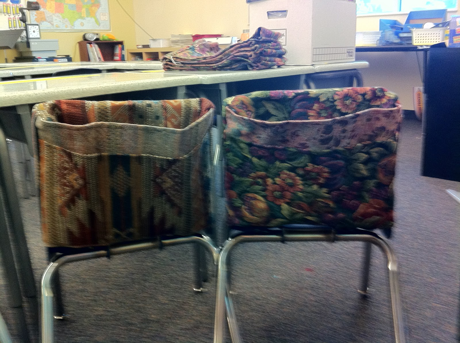 Welcome Home Farm: Elementary Chair Pockets on