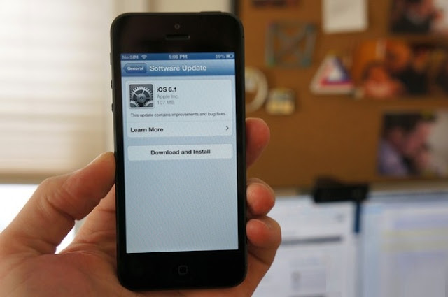 iPhone 4S problems after update to iOS 6.1