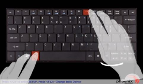 Как сделать ресет на ноутбуке hp