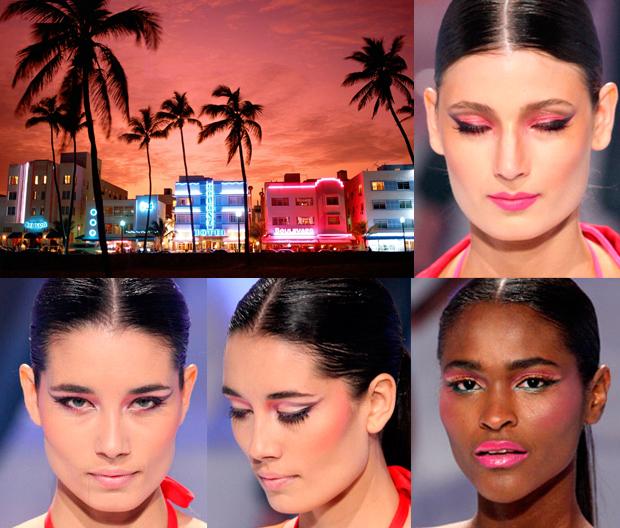 maquiagem pôr-do-sol_esfumaçado rosa_olho gatinho_SPFW_Make B