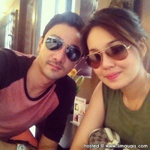 Foto Gambar Pra Perkahwinan Pasangan Nelydia Senrose dan Qi Razali