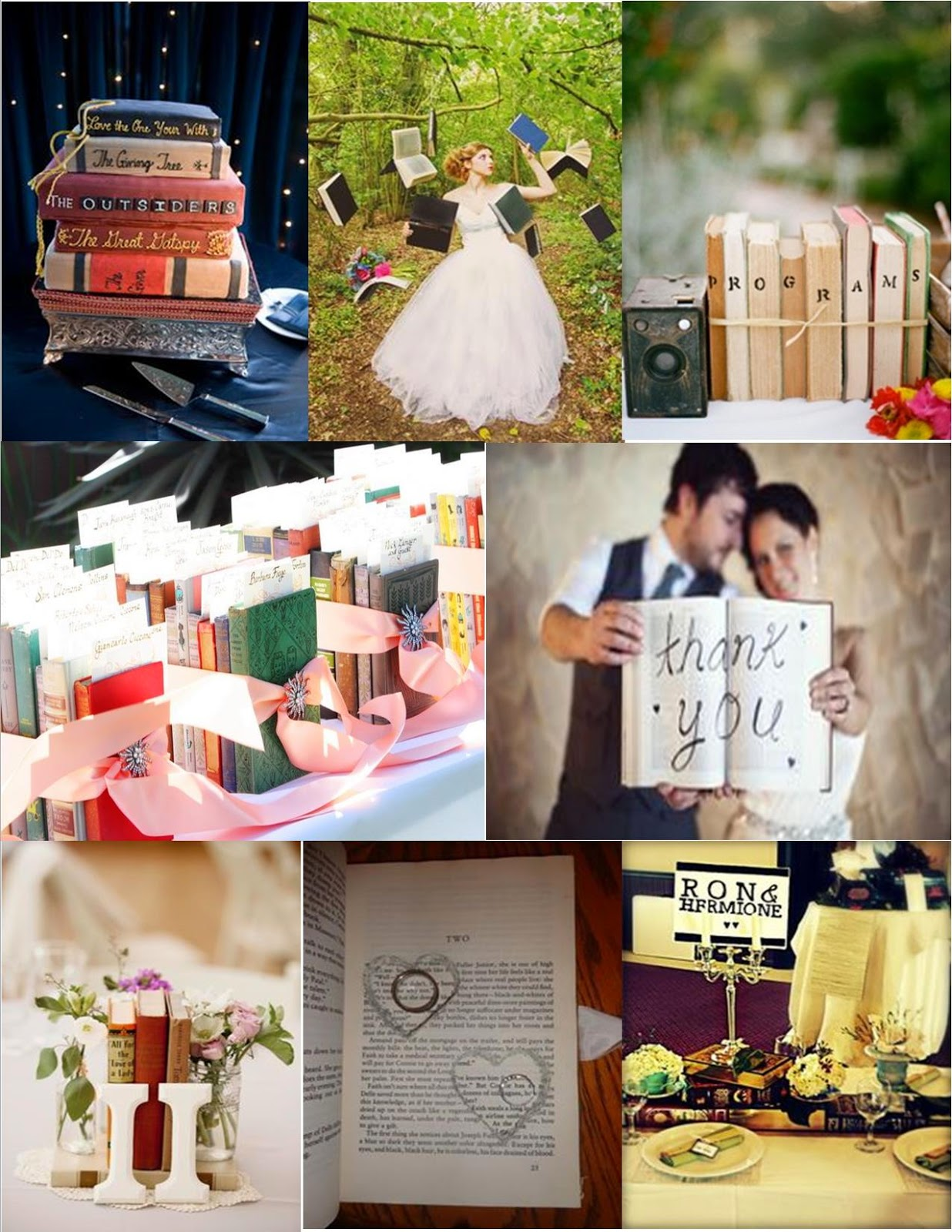 Book Themed Wedding Skyranreborn