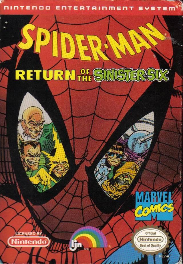 Neko random spider man return of the sinister six nes review