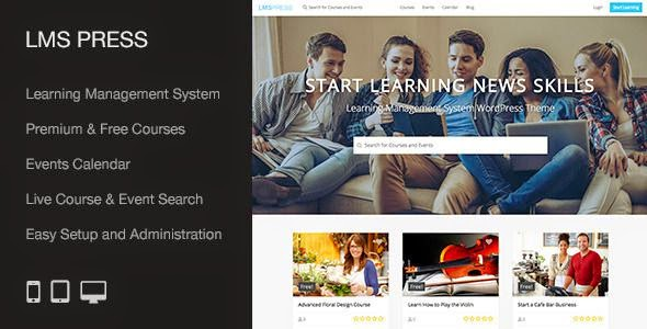 Best Learning Management System WP Theme