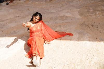 anushka from ragada movie, anushka new spicy hot photoshoot