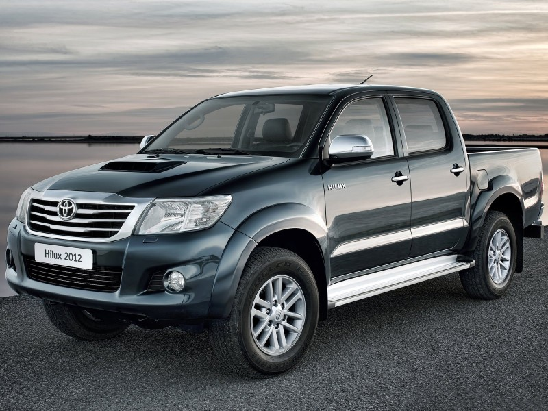 car show turkey: new toyota hilux 2012 features , official trailer