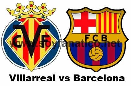 Villarreal vs Barcelona 2014