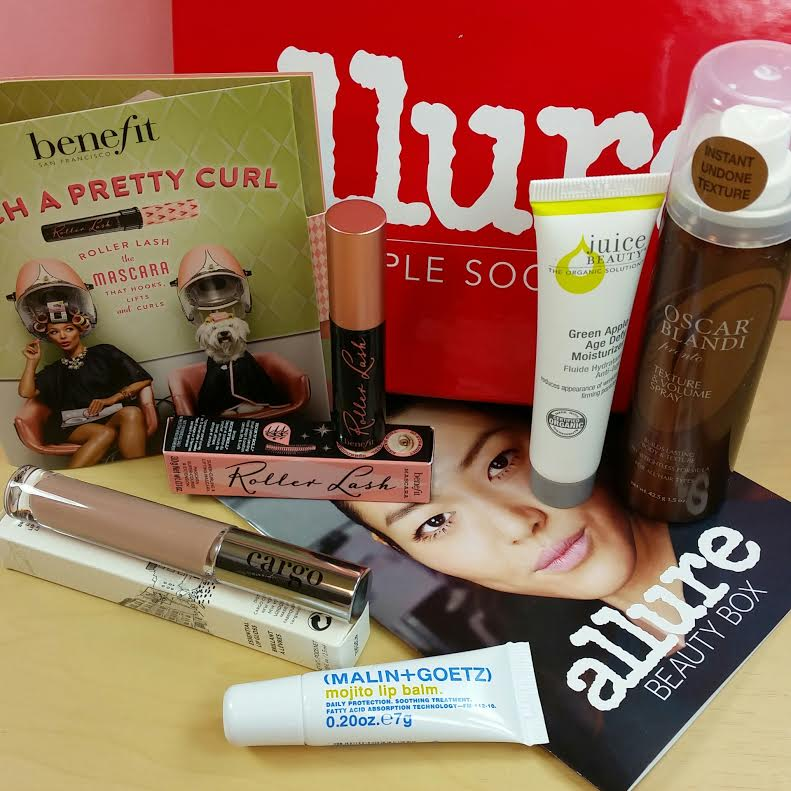Allure Sample Society March 2015 Review and Coupon Code | Bits and ...