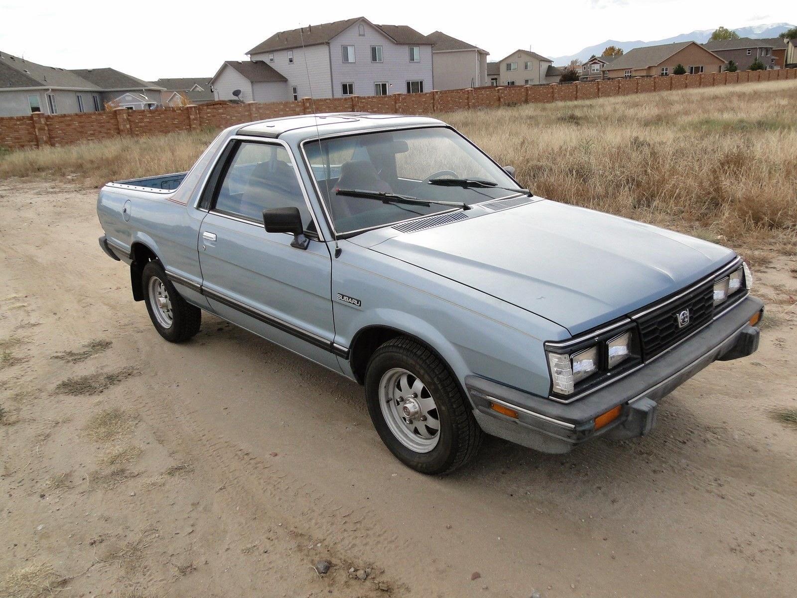 Daily Turismo 5k BRAT ATTACK 1986 Subaru BRAT