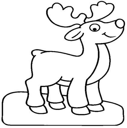 Cara rodolfo el reno imagui - Renos para dibujar ...