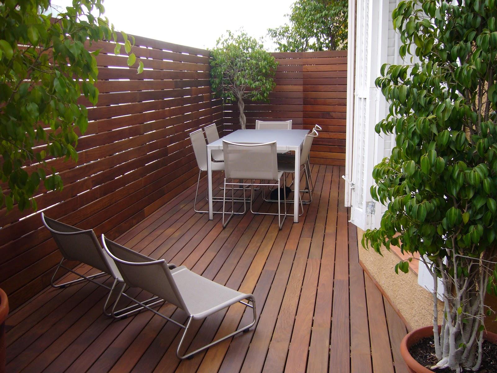Chm interiorismo y reformas terrazas for Terraza de madera exterior