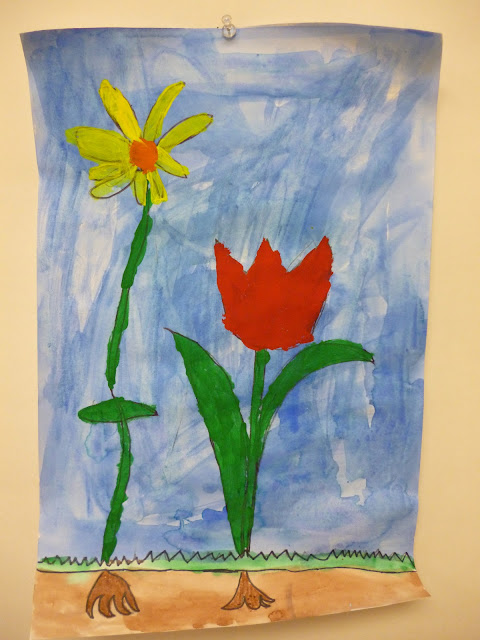Artistic freedom kindergarten flowers yay for spring - Flowers that mean freedom ...
