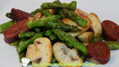 Receta fácil y rápida de salteado de verduras