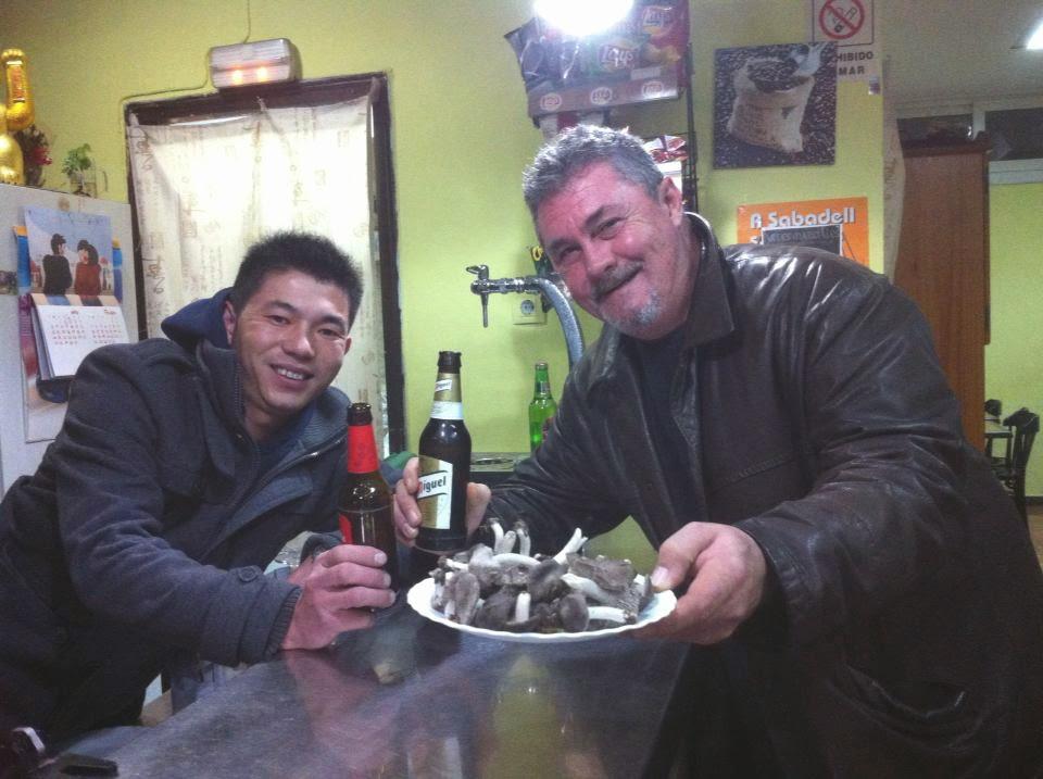 Compartiendo con Wuan