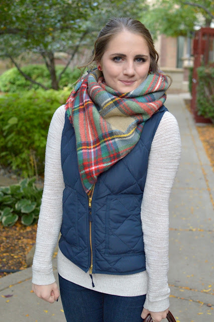 blanket scarf outfit ideas