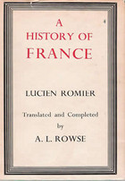 lucien romier a history of france