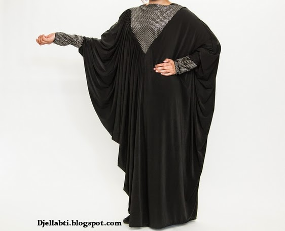 Abaya, abaya luxe, abaya marocaine, Abaya noir, djellabti, djellabti.blogspot.com, femme, Abaya Emirat, Abaya moderne, abaya femme,